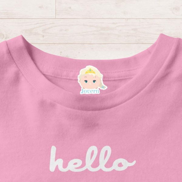 Personalised Iron On Labels Singapore | Clothes Stickers