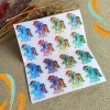 Children Name Stickers Singapore - Hologram Character