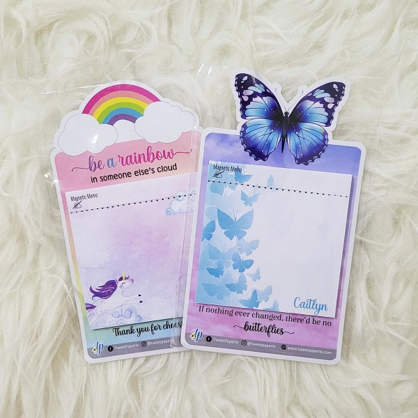 Magnetic Memo Singapore - Customised with Name