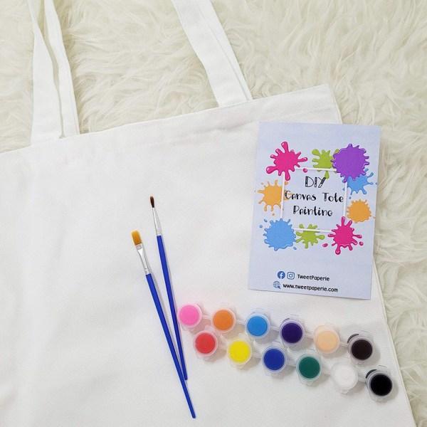 DIY Canvas Tote Bag Painting Kit Singapore