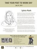 Sylvia Plath Take Your Poet to Work Day Printable