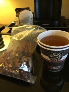 Tea & sympathy in my room.