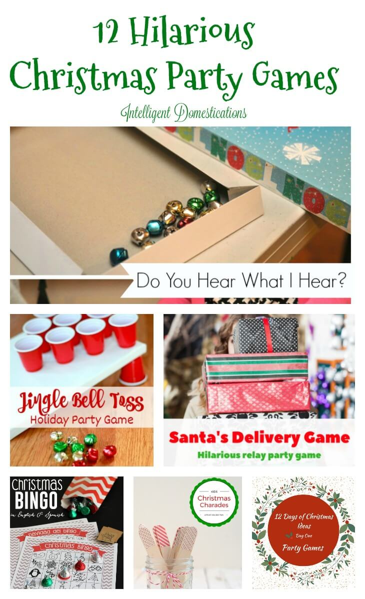12 Hilariously Fun Christmas Party Games Twelve On Main