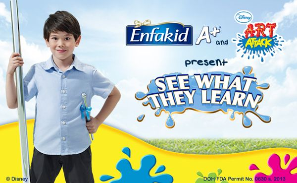 Enfakid A+ & Disney's Art Attack Present 'See What They Learn'
