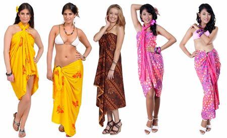 Elegant And Beautiful Sarongs For Women