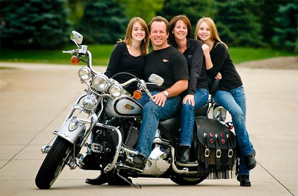 motorcycle family photo  Keeping Family Members Safe When Riding The Motorcycle – TWENTEEN MOM