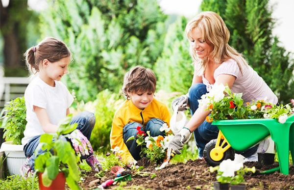Ways To Entertain The Kids In The Garden