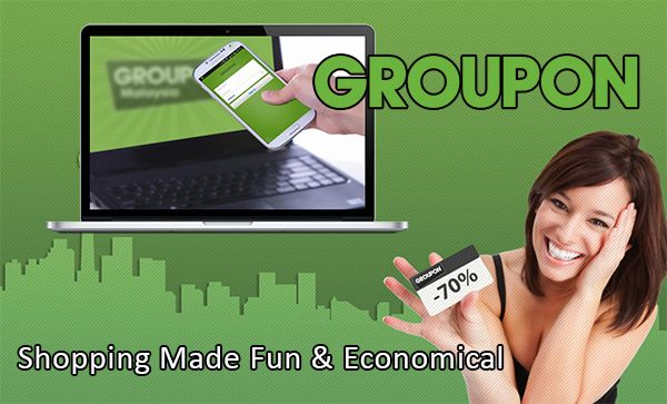 Shopping Made Fun And Economical at Groupon