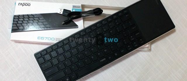 DAILY DRIVEN | The Rapoo E6700 Bluetooth keyboard