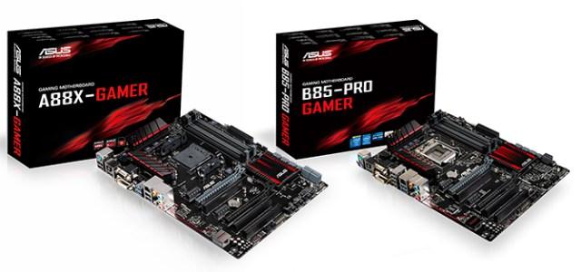 Hardcore Hardware: The ASUS Gamer Series motherboards