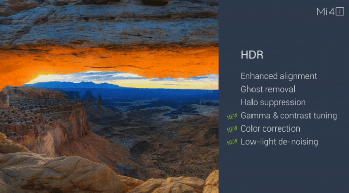 HDR for rear cam