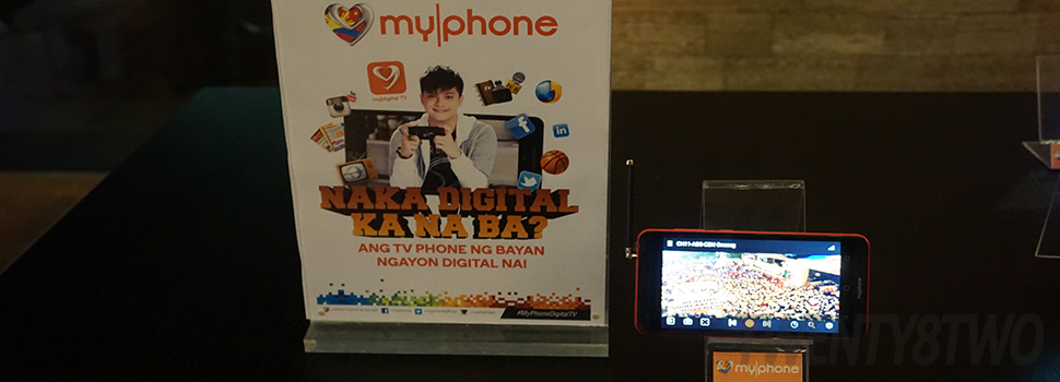 MyPhone goes digital television on your mobile phones