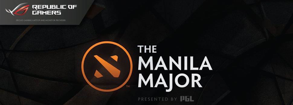 ASUS ROG is The Manila Major's laptop and monitor provider