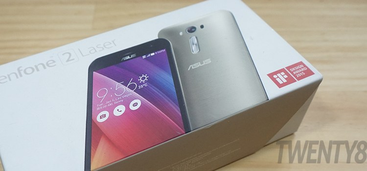 FIRST IMPRESSIONS   ASUS ZenFone 2 Laser 5.5S