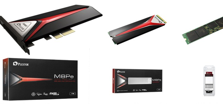 Plextor launches the MP8Pe series SSD, first Plextor to support PCIe Gen3 x4