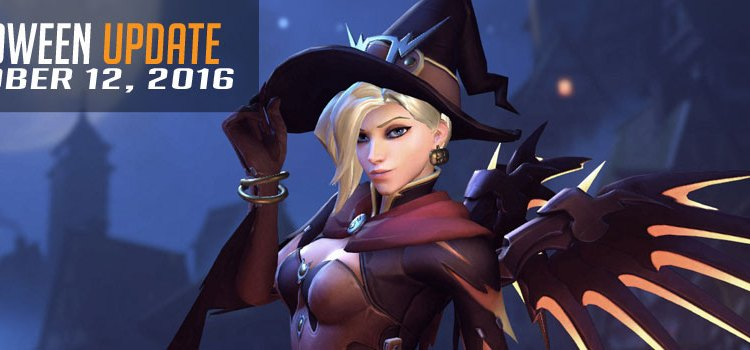 Halloween comes to Overwatch with new patch