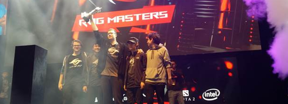 Team Secret crowned as the first ROG Masters 2016