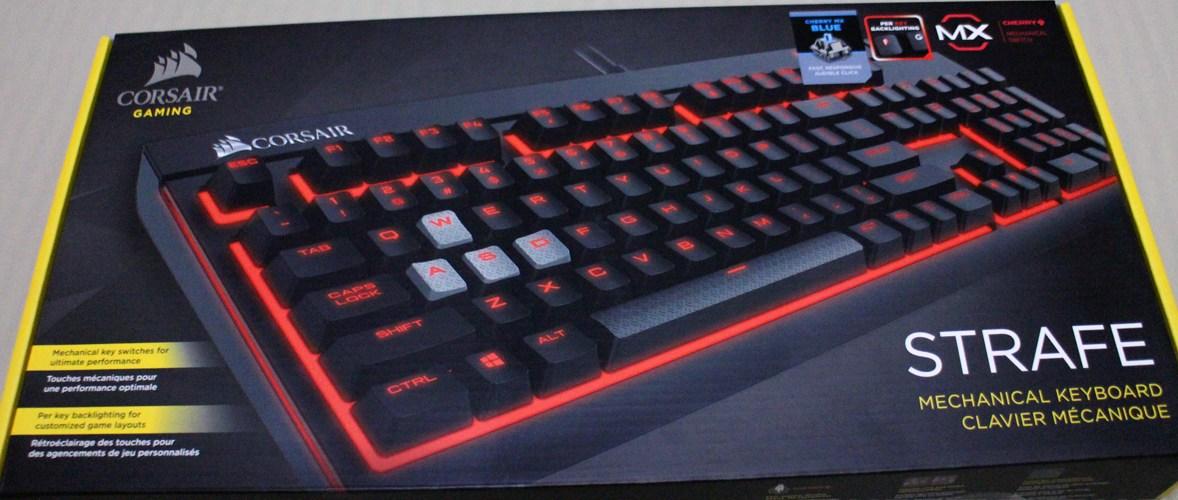 DAILY DRIVEN   Corsair STRAFE Mechanical Gaming Keyboard