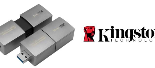 Kingston Ships World's Largest Capacity USB Flash Drive
