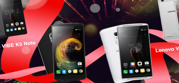 Lenovo launches the Vibe series of TheatreMax-equipped smartphones