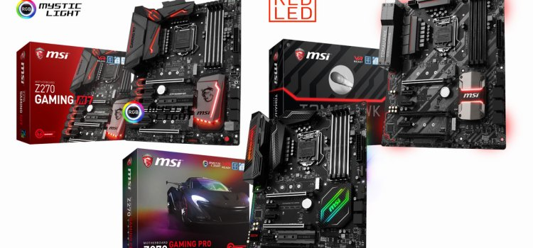 CES 2017: MSI showcases new motherboards optimized for Intel 7th Gen procs