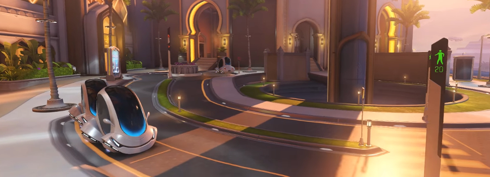 Overwatch's new Oasis control map is now playable! Plus some upcoming Roadhog changes