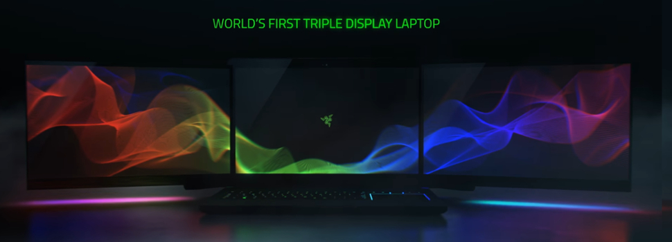 CES 2017: Razer outs Project Valerie, a triple-monitor gaming laptop