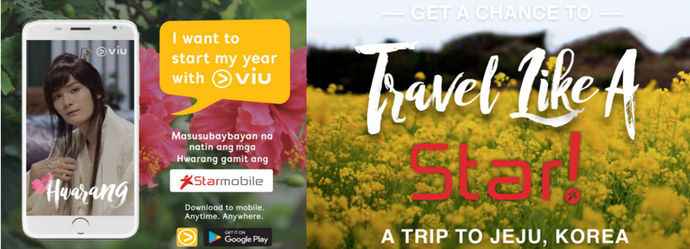 Starmobile and Viu gives customers a chance to win a trip for two to Jeju, South Korea