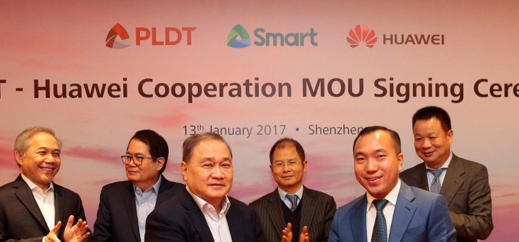 PLDT, Smart seal 5G partnership with Huawei