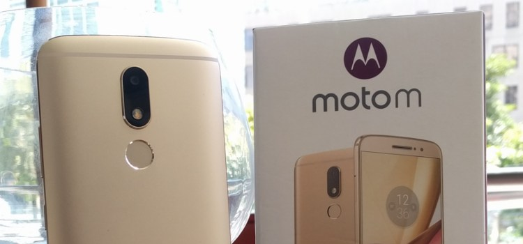 Moto launches its new midranger, the Moto M