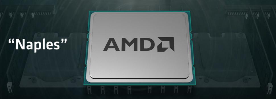 """AMD Previews """"Naples"""" High-Performance Server Processor"""