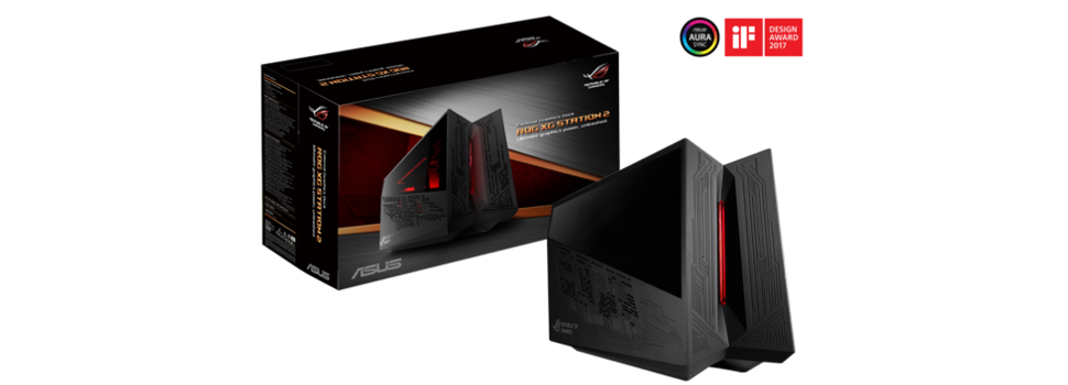ASUS Announces ROG XG Station 2, a Thunderbolt 3 external graphics dock