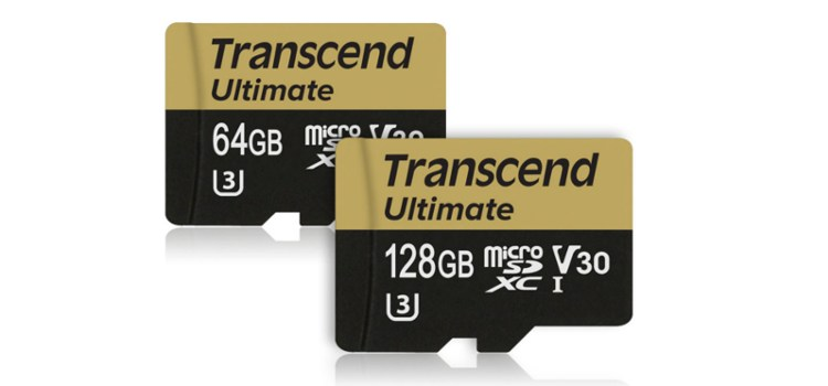 Transcend outs new Ultimate UHS V30 microSD Cards, designed for 4K video recording