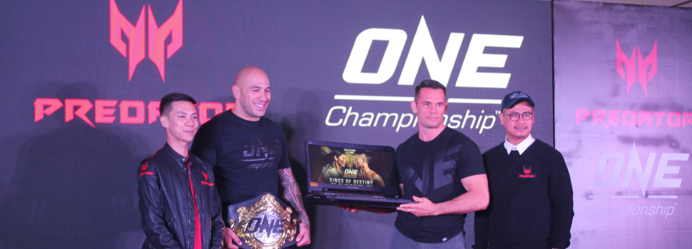 Predator Philippines partners with mixed martial arts promotion ONE Championship