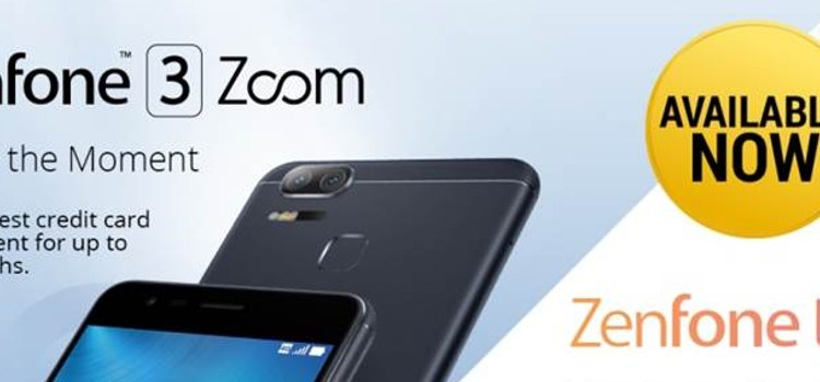ASUS' ZenFone 3 Zoom and ZenFone Live now available in the Philippines
