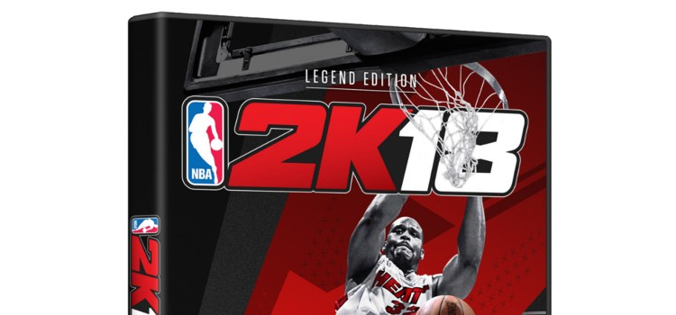 Shaquille O'Neal to grace the cover of NBA 2K18 Legend Edition