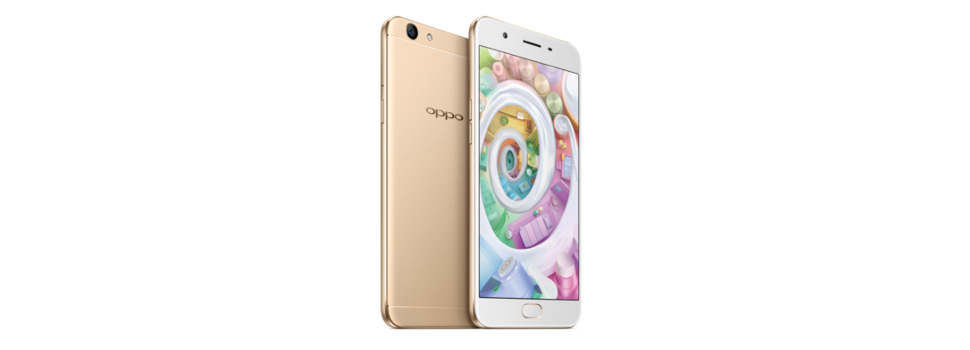 The OPPO F1s is the best selling smartphone in the country at the end of 2016