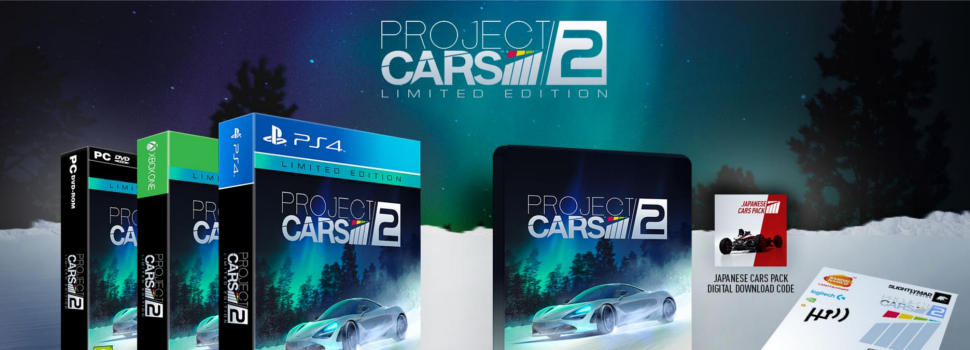 Bandai Namco announces Project CARS 2 Limited & Collector's Editions