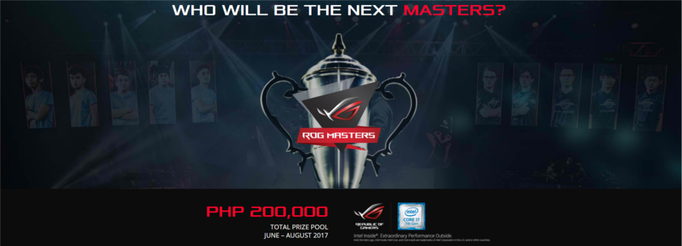 ASUS announces the ROG Masters 2017, with Philippine Qualifiers for Dota 2 and CS:GO this June