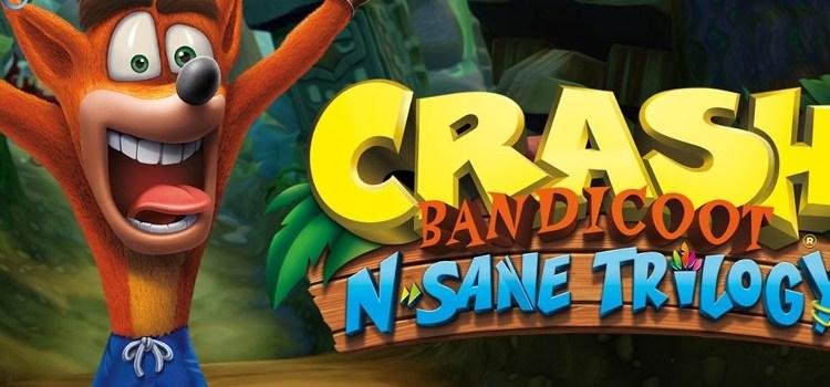 Crash is back! Crash Bandicoot N. Sane Trilogy Available now for PS4