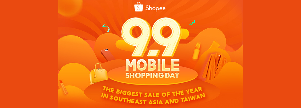 """""""Shopee 9.9 Mobile Shopping Day"""" breaks record with more than three-fold increase in orders within 24 hours"""