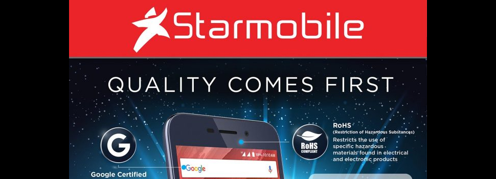 Starmobile meets international quality control certifications