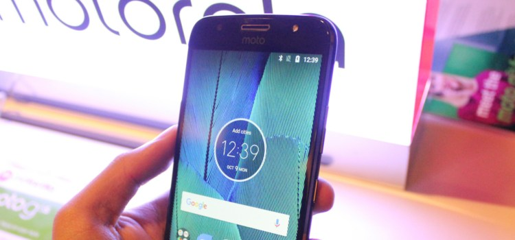 Motorola launches the Moto G5S and G5S Plus
