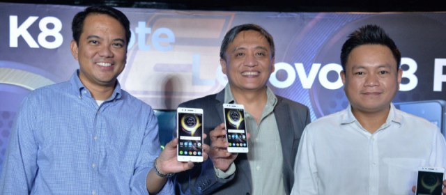 Lenovo launches dual-camera Lenovo K8 Note and Lenovo K8 Plus