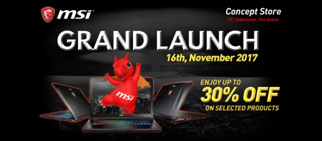 MSI Gaming PH Announces Official Launch Of New Concept Store