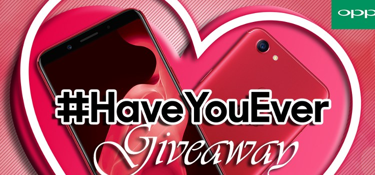 Unleash your hugot this Valentine's Day with OPPO's #HaveYouEver Promo