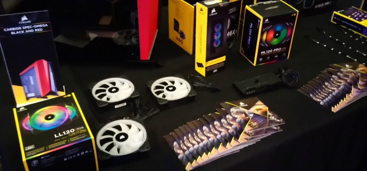 Corsair unveils new product lineup for 2018 at their first Philippine press event