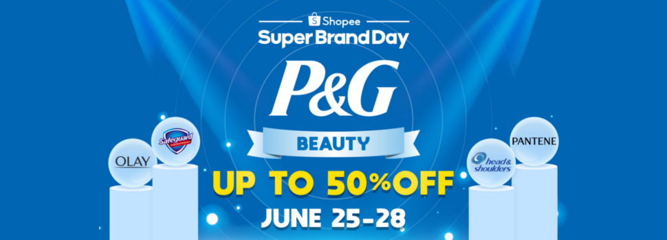 "Shopee Partners with P&G to Launch Debut ""Super Brand Day"""
