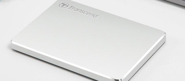 Transcend Introduces Ultra Slim Portable Storage StoreJet 25C3S