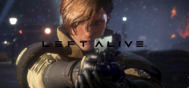 Left Alive Gets Release Date